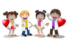 doctor barn Fotografering för Bildbyråer