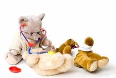 Doctor bear stock image