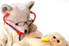 Doctor bear Royalty Free Stock Images