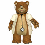Doctor Bear Royalty Free Stock Image