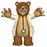 Doctor Bear Royalty Free Stock Photography