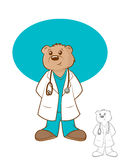 Doctor Bear Stock Photos
