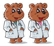 Doctor Bear. Part of a series. Stock Images