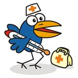 Doctor - bird Stock Photography
