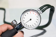 Doctor blood pressure Royalty Free Stock Image
