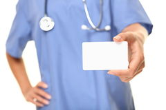 Doctor business card stock images