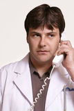 Doctor on call Stock Images