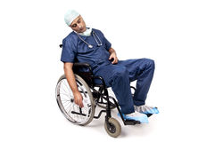 Doctor cansado Imagen de archivo