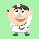 Doctor ,Cartoon Character, refers to the top Royalty Free Stock Photography