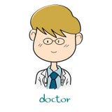 Doctor cartoon Royalty Free Stock Image