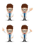 Doctor character Royalty Free Stock Photography