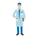 Doctor character vector isolated Stock Photo