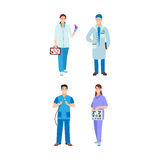 Doctor character vector isolated Stock Photography