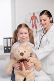 Doctor and child. Royalty Free Stock Images