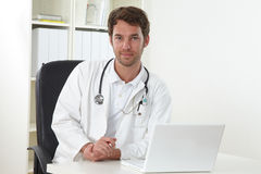 Doctor in clinic Royalty Free Stock Photo