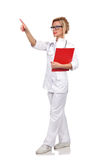 Doctor with clipboard Stock Photos