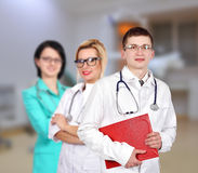 Doctor with colleagues Stock Photos