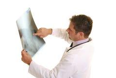 Doctor con la radiografía Fotografía de archivo