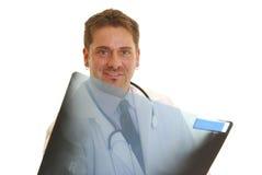 Doctor con la radiografía Imagen de archivo libre de regalías