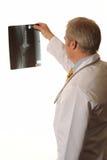 Doctor con la radiografía Fotos de archivo