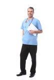 Doctor con una libreta Fotografía de archivo libre de regalías