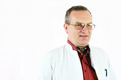 Doctor confident of himself Royalty Free Stock Photos