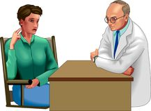 Doctor consultation  Stock Image