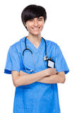 Doctor crosshand Royalty Free Stock Photography