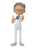 Doctor 3d Fotografía de archivo libre de regalías