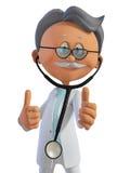 Doctor 3d Fotos de archivo libres de regalías