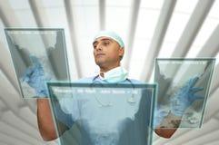 Doctor de la alta tecnología Imagen de archivo