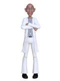 Doctor de la historieta 3d Fotografía de archivo libre de regalías