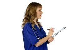 Doctor de la mujer Foto de archivo