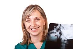 Doctor de la mujer Fotos de archivo