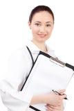 Doctor de la mujer en uniforme Fotografía de archivo libre de regalías