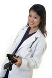 Doctor de la mujer joven imágenes de archivo libres de regalías