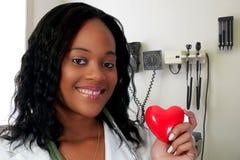 Doctor de sexo femenino Imágenes de archivo libres de regalías