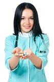 Doctor de sexo femenino Foto de archivo libre de regalías