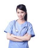 Doctor de sexo femenino del cirujano Imagen de archivo libre de regalías