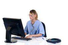Doctor de sexo femenino en oficina Fotografía de archivo