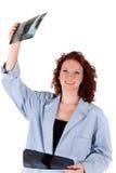 Doctor de sexo femenino maduro atractivo foto de archivo libre de regalías