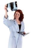 Doctor de sexo femenino maduro atractivo fotografía de archivo