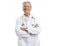 Doctor de sexo masculino maduro Fotos de archivo libres de regalías