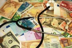 Doctor del dinero Imagen de archivo libre de regalías