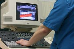 Doctor del ultrasonido Foto de archivo libre de regalías