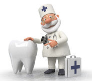 Doctor dentist Stock Image