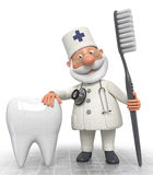 Doctor dentist Stock Images
