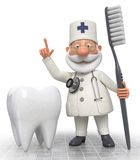 Doctor dentist Royalty Free Stock Photography