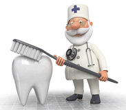 Doctor dentist Royalty Free Stock Photos