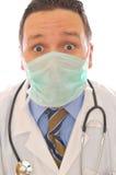 Doctor desconcertado Fotografía de archivo